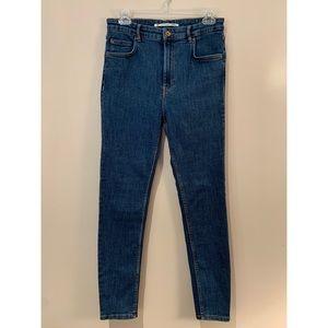 Zara Trafaluc Denimwear High Rise Skinny Jeans
